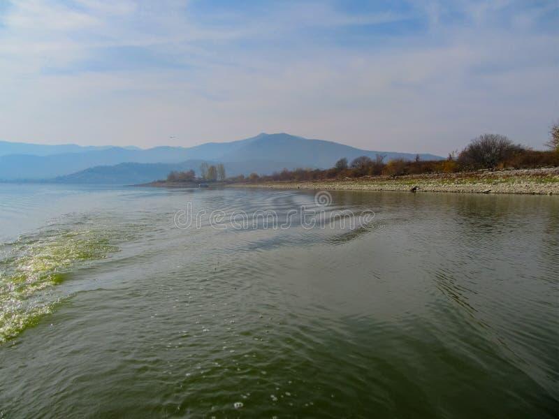 Мистическая красота озера Kerkini Северная Греция стоковые фотографии rf