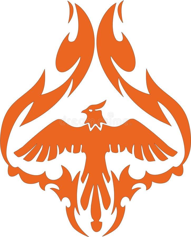 мифологический phoenix бесплатная иллюстрация