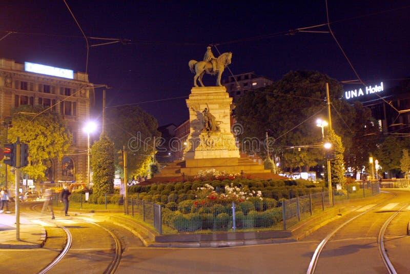 Милан Италия центра города стоковое фото