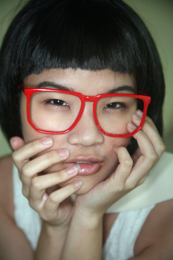 Милая азиатская девушка стоковое фото rf