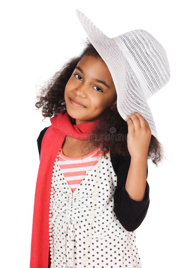 Милая африканская девушка стоковое изображение rf