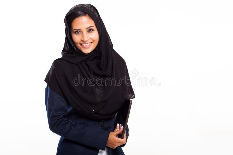 Ближневосточная коммерсантка стоковые изображения