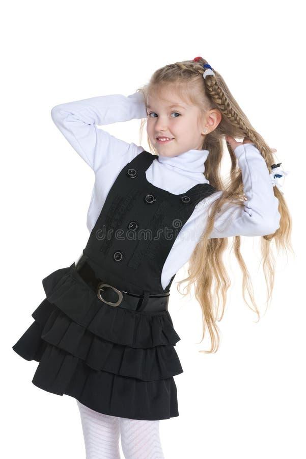 милая девушка немногая стоковое фото
