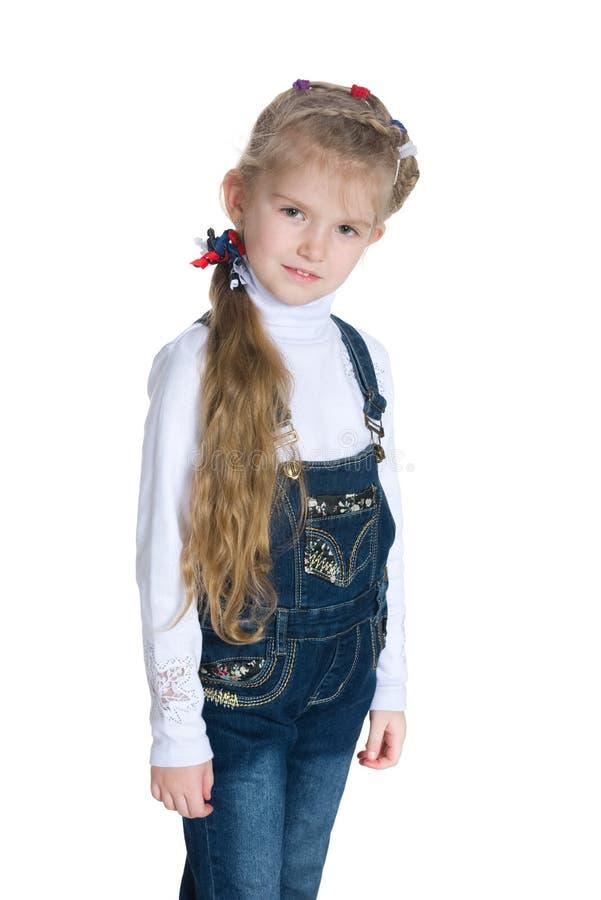 милая девушка немногая стоковые фото