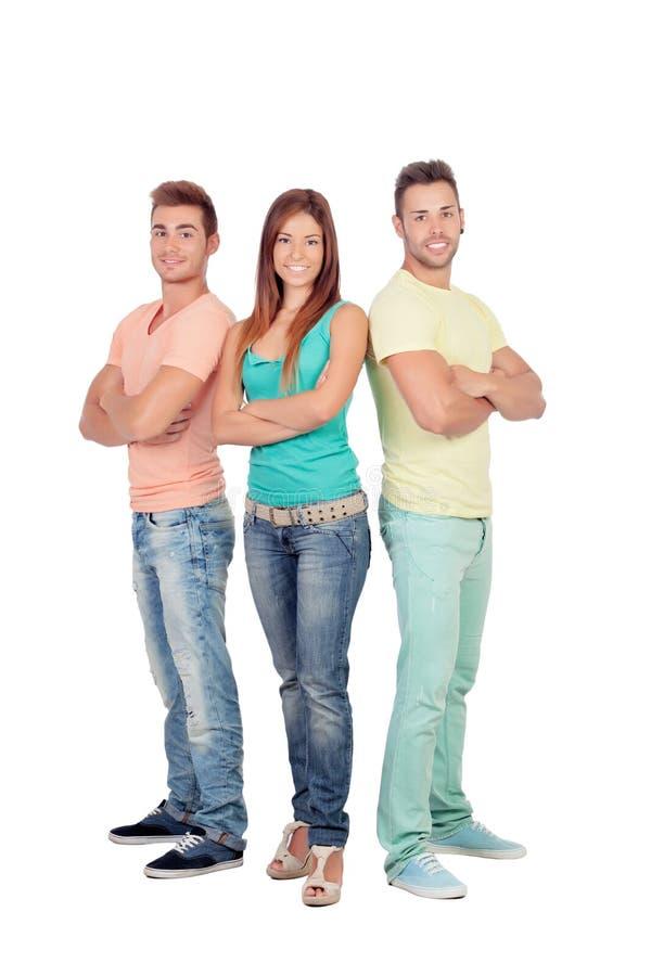 Download Милая девушка с 2 красивыми мальчиками Стоковое Изображение - изображение насчитывающей женщина, персона: 33733921