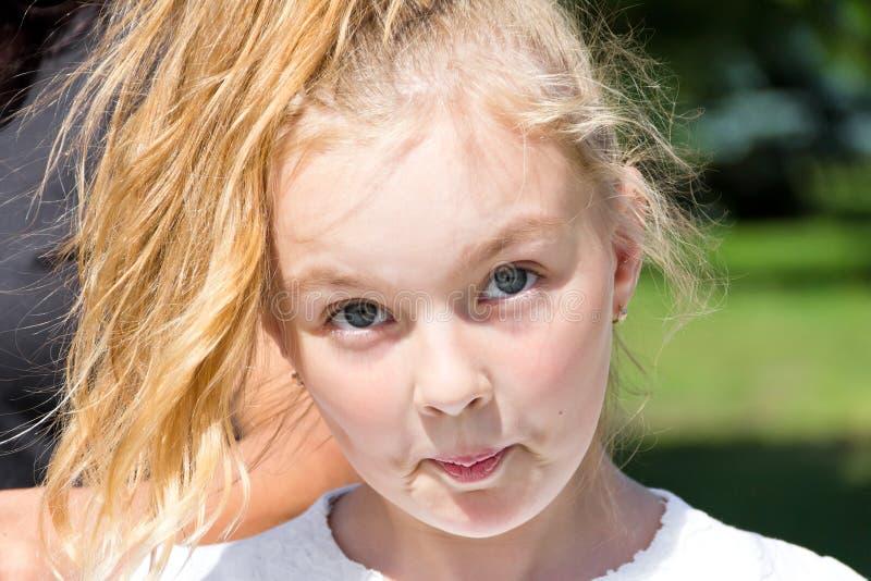 милая девушка стоковая фотография