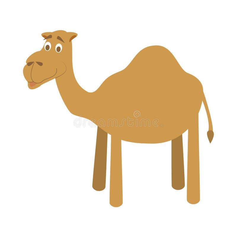 Милая иллюстрация вектора верблюда шаржа иллюстрация штока