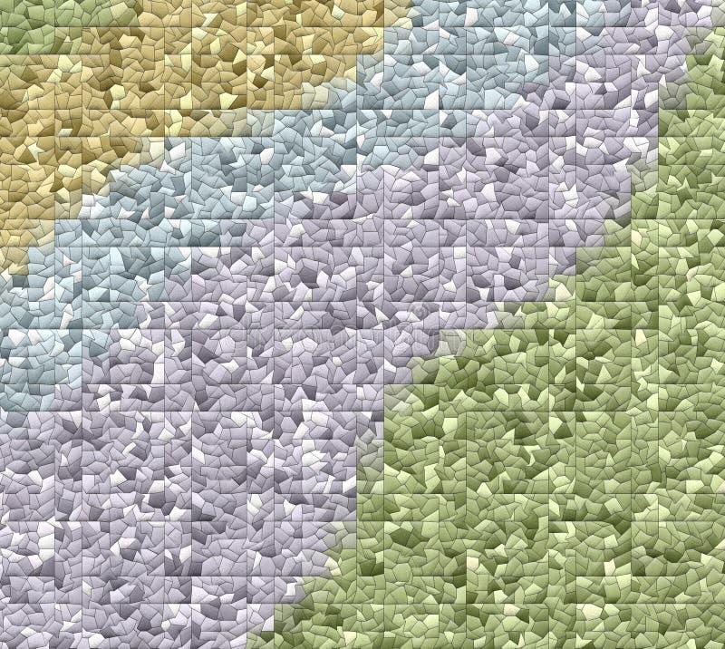 Милая крыть черепицей черепицей мозаика цвета предпосылк стоковые фото