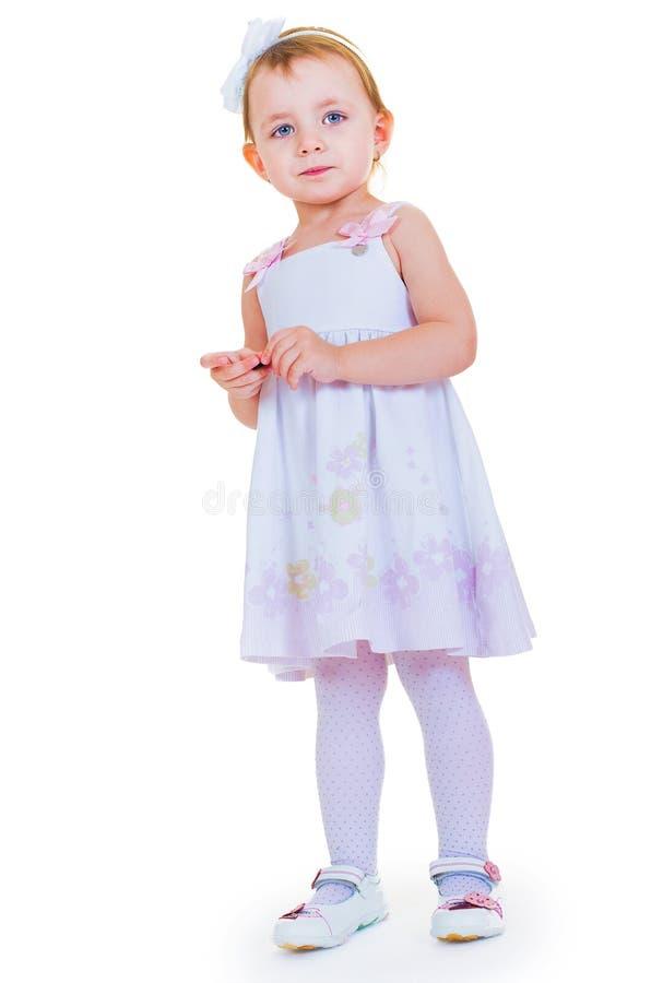 Милая маленькая девочка стоковое изображение rf