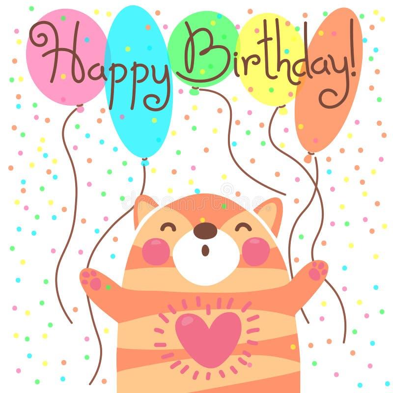 С днем рождения самая милая открытка с днем рождения