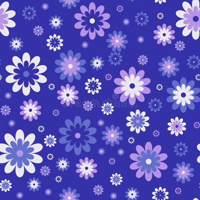 милая флористическая картина безшовная Предпосылка вектора иллюстрация штока