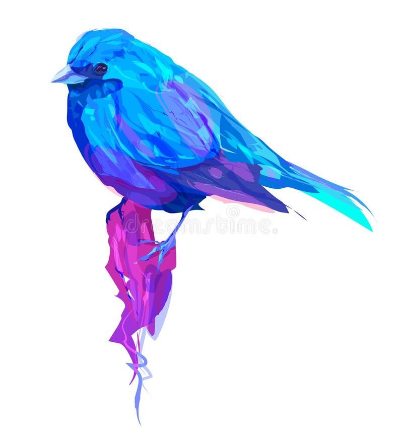 Милая экзотическая голова птицы бесплатная иллюстрация