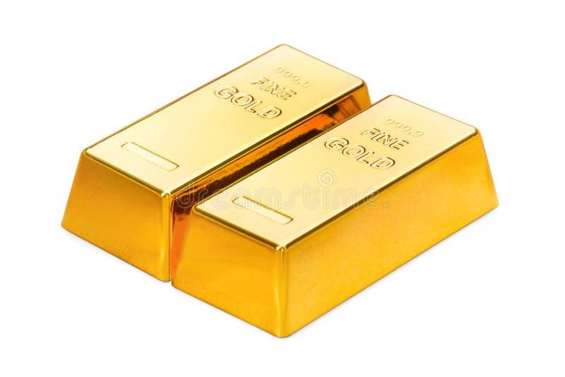 миллиарды 3d произвели изображение золота стоковая фотография