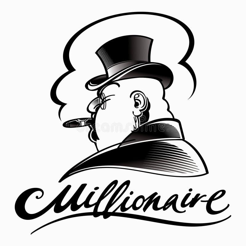 миллионер бесплатная иллюстрация