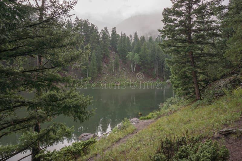 Миллион резервуаров около южной вилки, Колорадо стоковые изображения