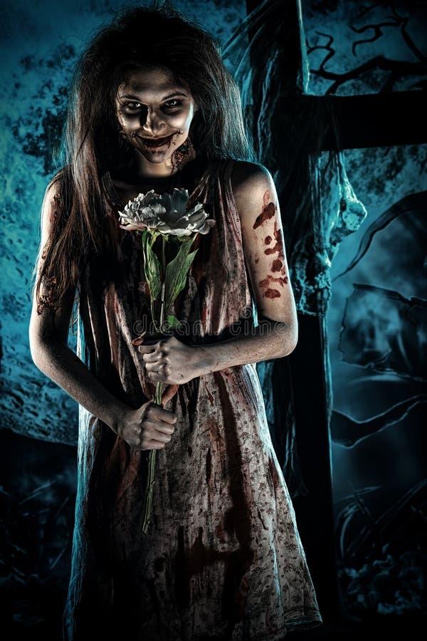 Романтичное зомби стоковая фотография rf