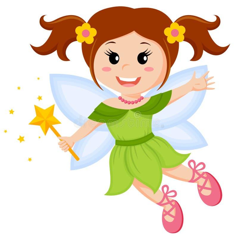 милое fairy немногая иллюстрация вектора