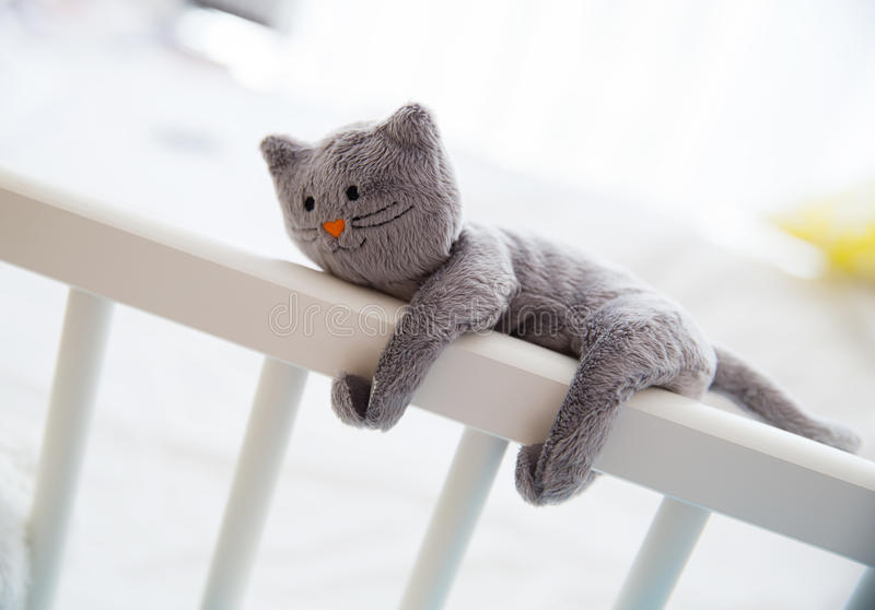 Милые мягкие игрушки младенца стоковое фото