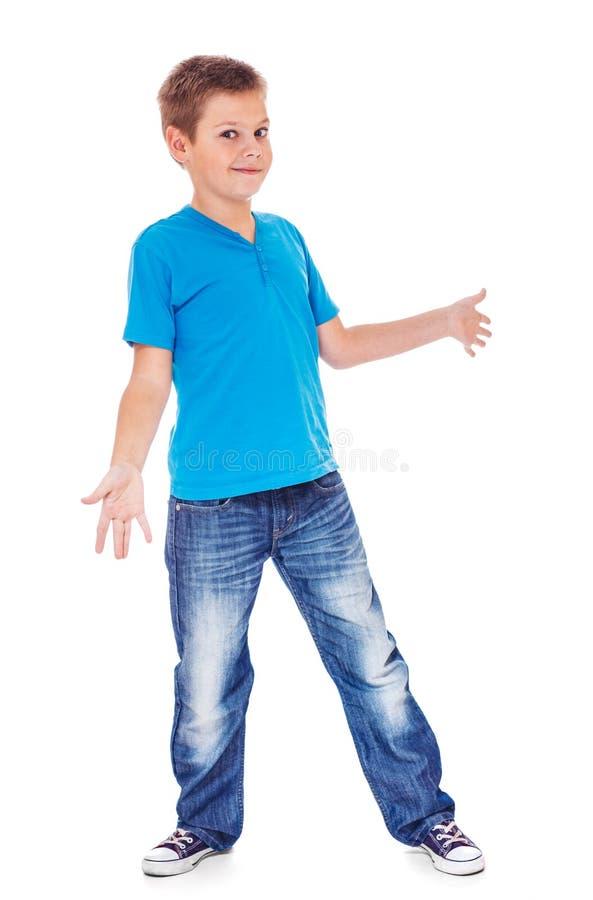 Мальчик смотрит озадаченным стоковые изображения rf