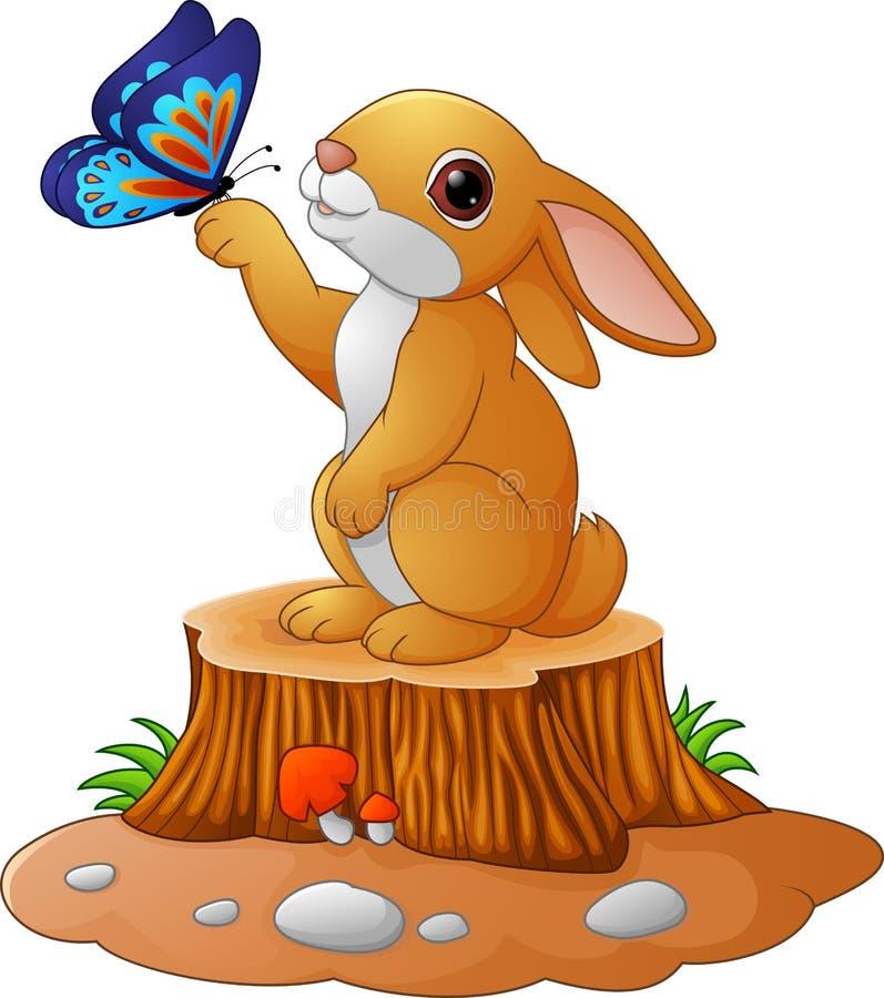 заинтересовали заяц на пеньке рисунок есть