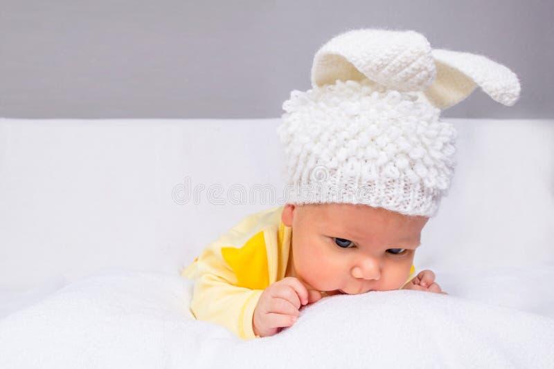 Милый и смешной младенец стоковое изображение rf