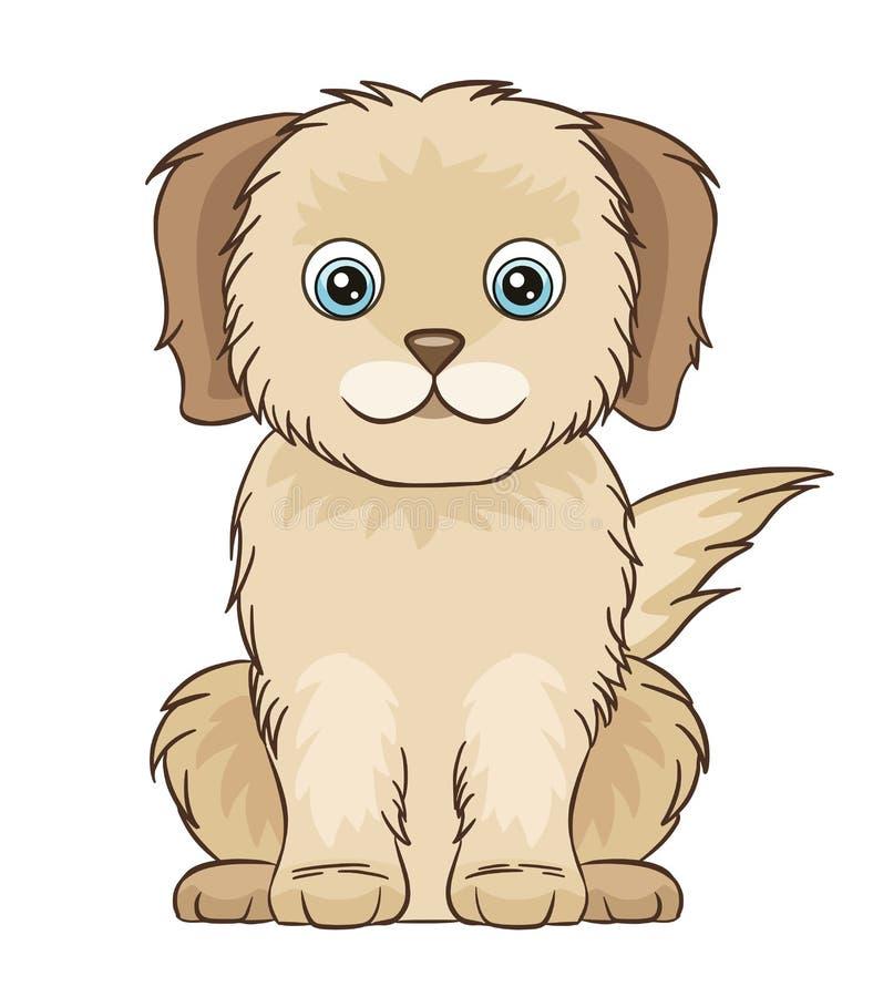 милый маленький щенок стоковые фото
