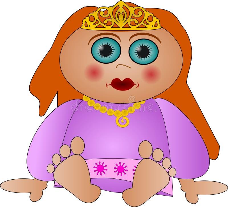 милый маленький princess стоковые изображения rf