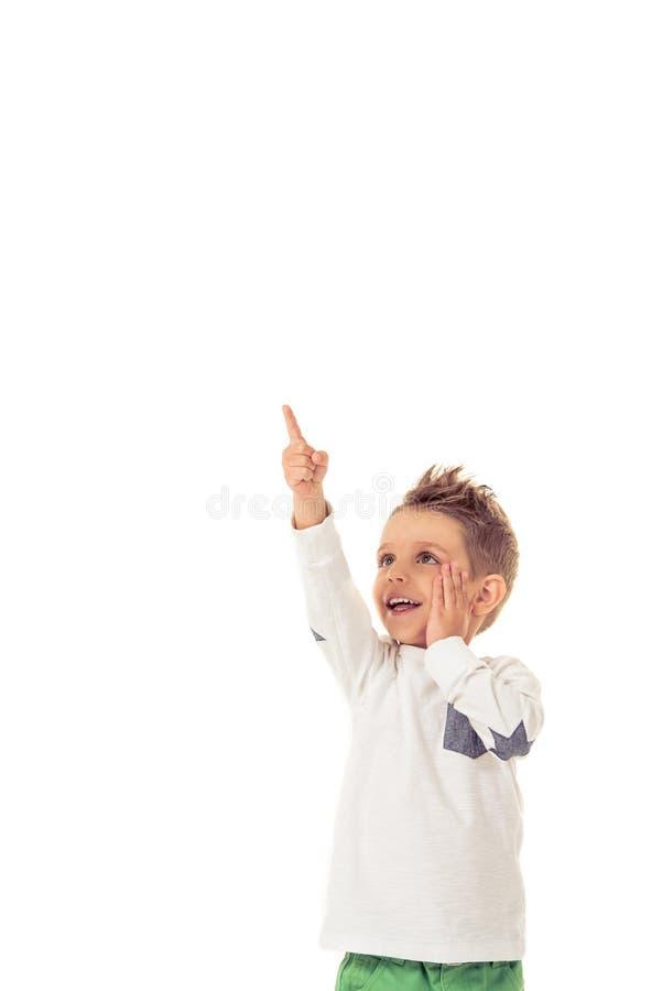 Милый мальчик стоковая фотография
