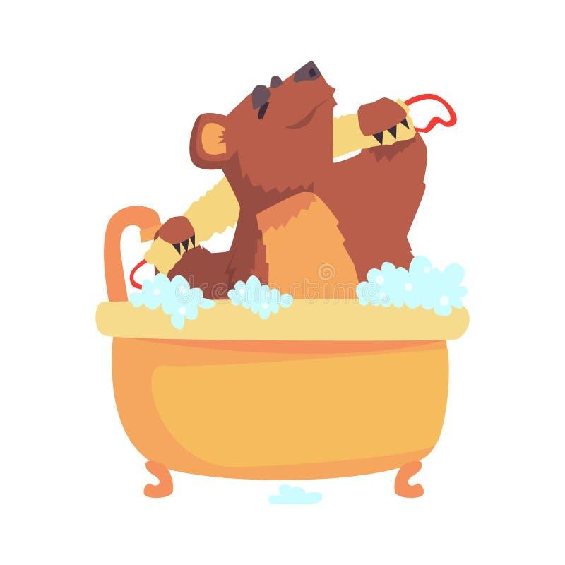 картинки медведь под душем втором этаже