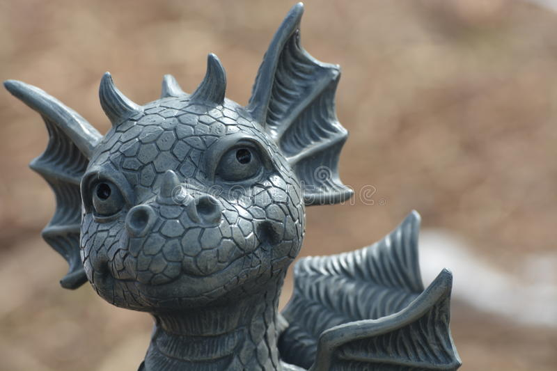 милый дракон стоковое изображение rf