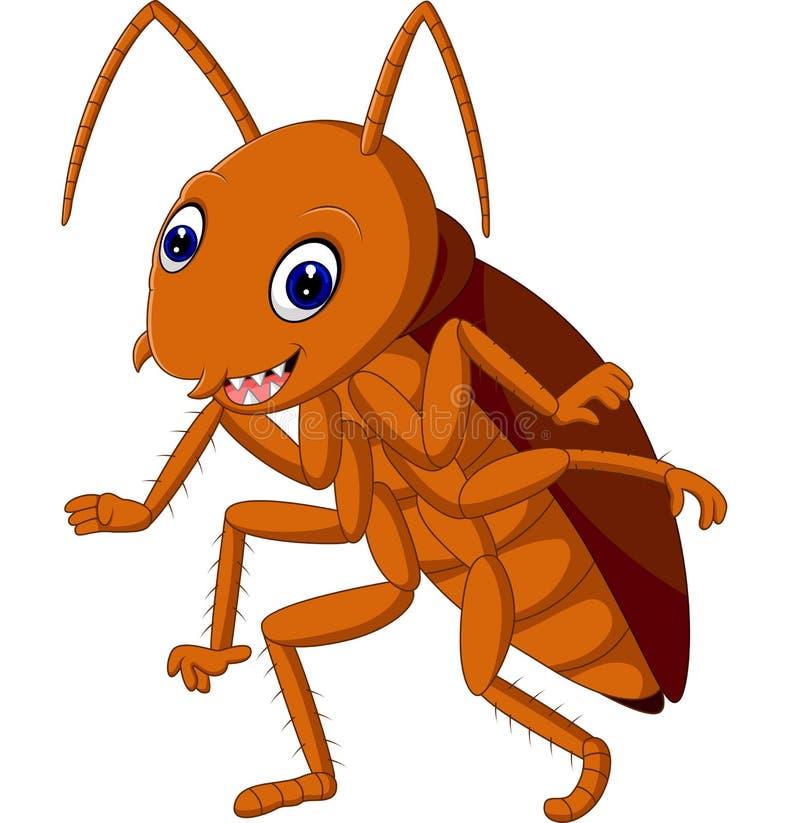 Милый таракан бесплатная иллюстрация