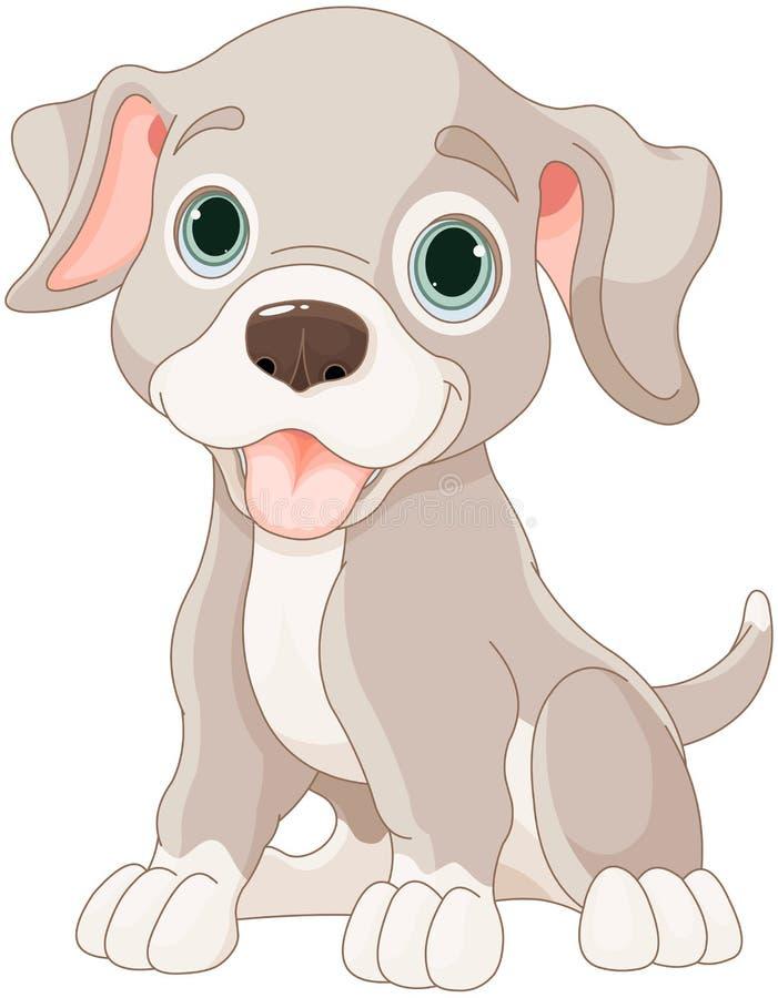 милый щенок бесплатная иллюстрация