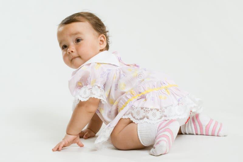 младенец довольно стоковые фотографии rf