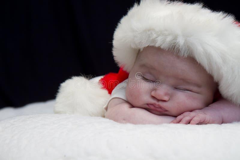 Младенец Санты стоковое изображение