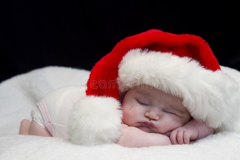 Младенец Санты стоковое фото rf