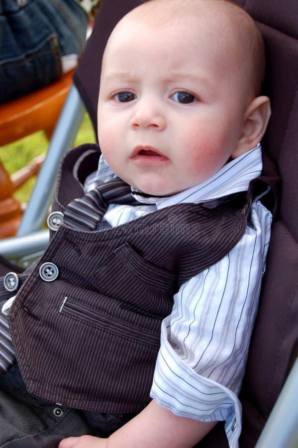 младенец франтовской стоковая фотография rf
