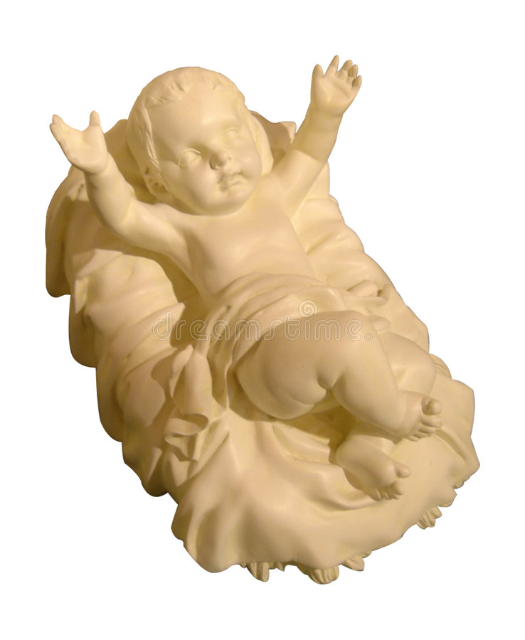 младенец jesus стоковая фотография