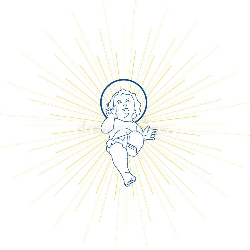 младенец jesus стоковая фотография rf