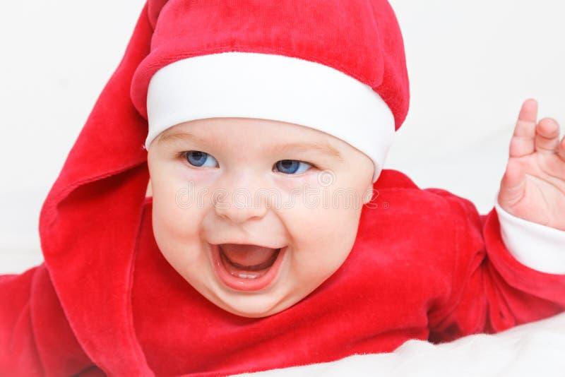 Младенец Santa Claus стоковое изображение rf