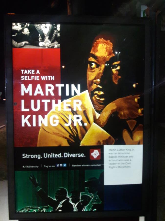 Младший Мартина Лютера Кинга стоковая фотография rf