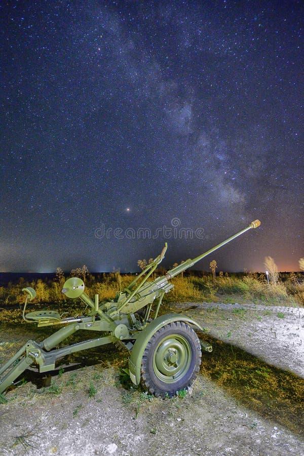 Млечный путь и Perseids стоковые изображения