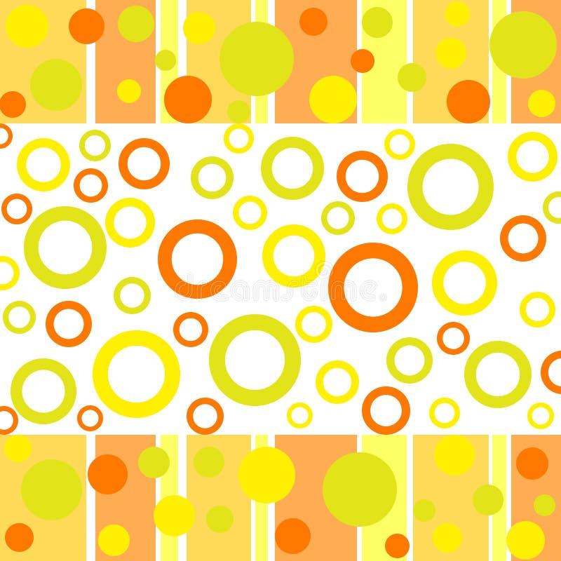 многоточия кругов в стиле фанк иллюстрация штока