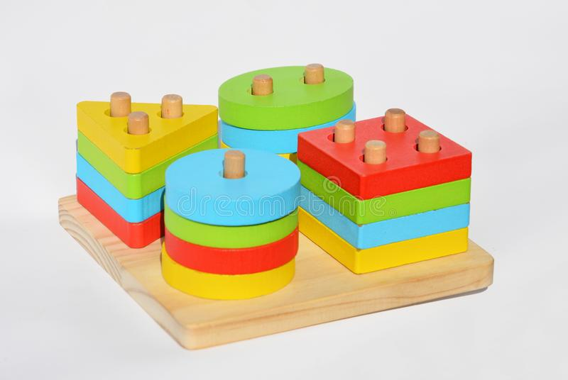 Многофункциональные игрушки Методика обучения и обучения детей Детские игрушки и материалы стоковое фото rf
