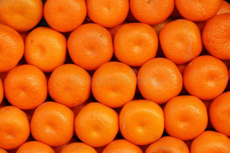 Много апельсинов изолированных в одном месте стоковая фотография rf