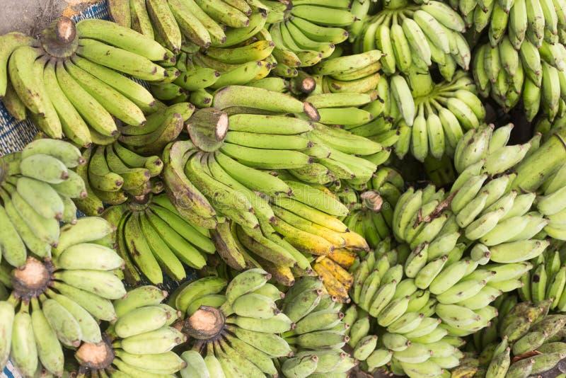 Много бананов плодоовощи которые содержат витамины И полезный к стоковое фото
