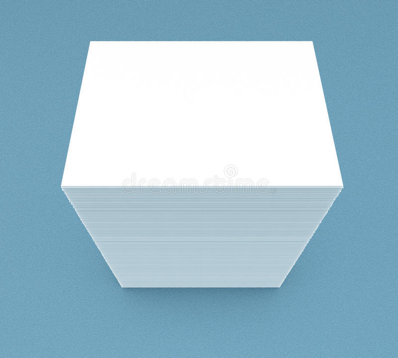 много карточек Шаблон к представлению иллюстрация штока