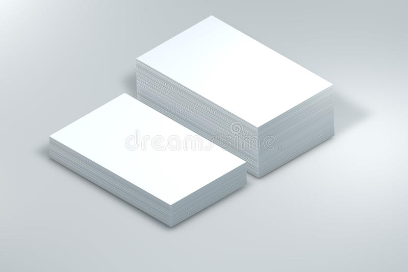 много карточек Шаблон к представлению иллюстрация вектора