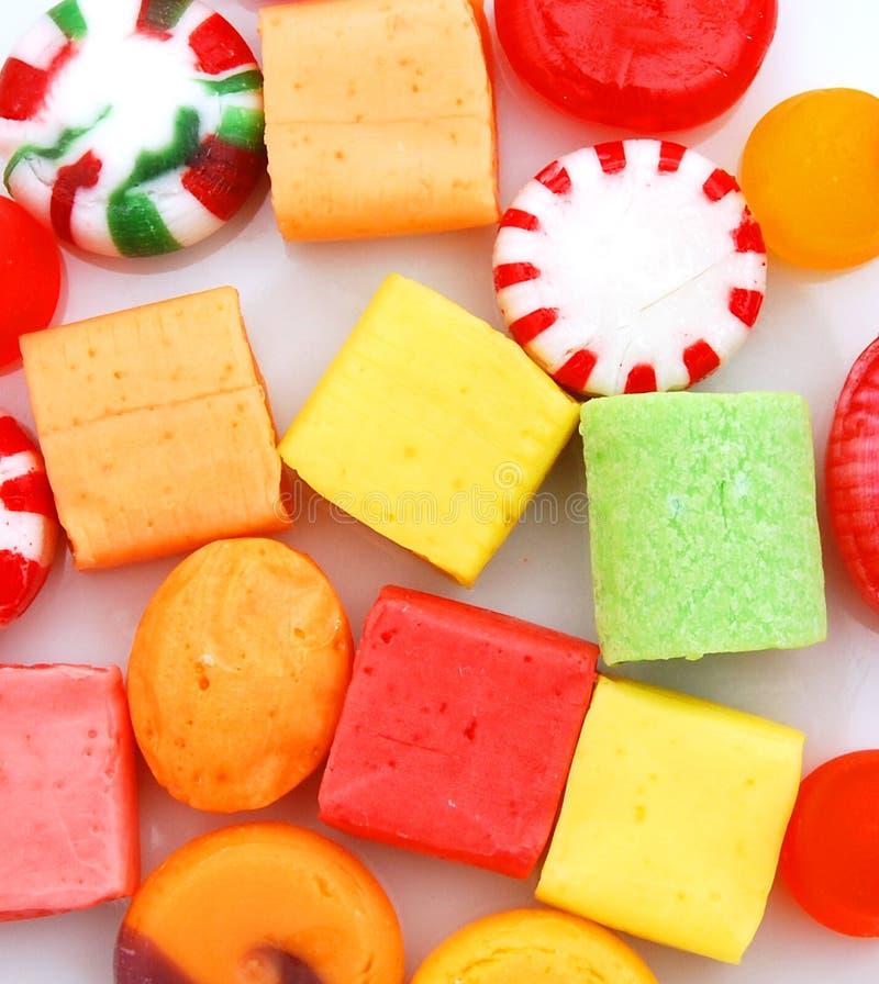 Много конфет другого цвета стоковая фотография