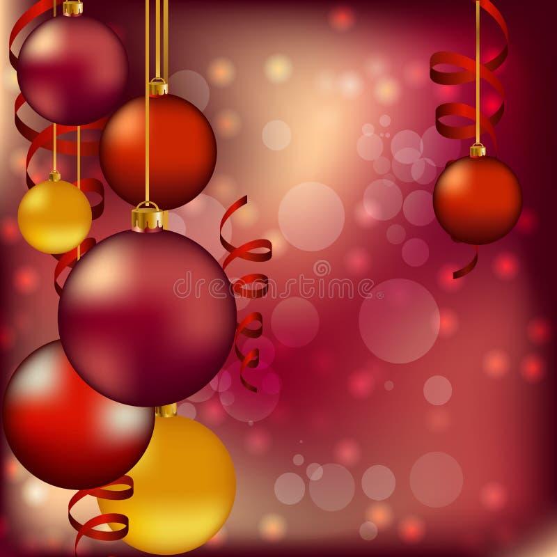 Много красный реалистический шарик стоковое фото rf