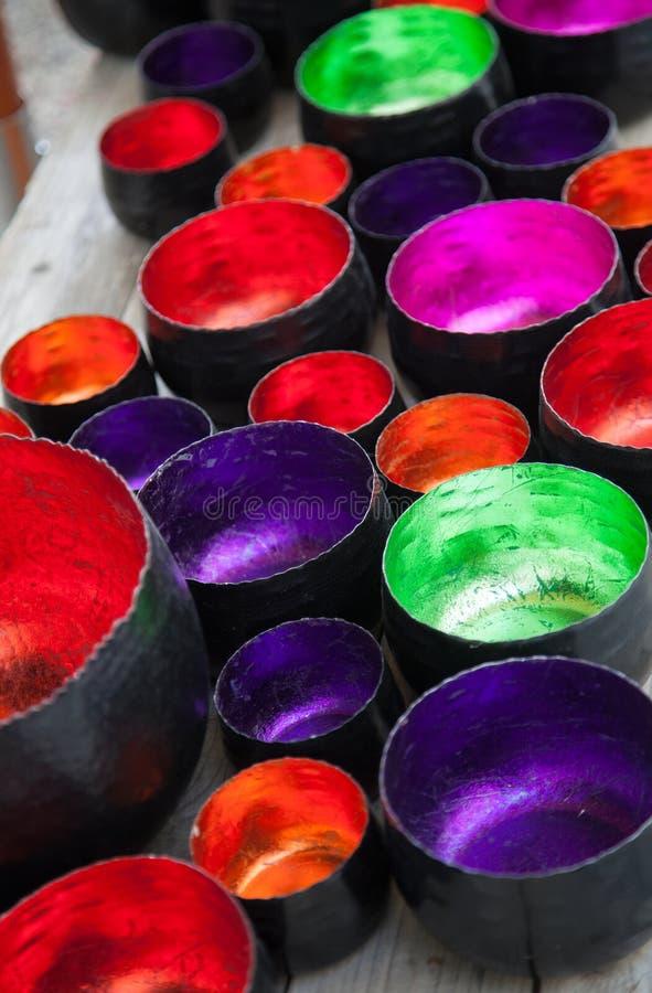 Много красочных шаров стоковые изображения